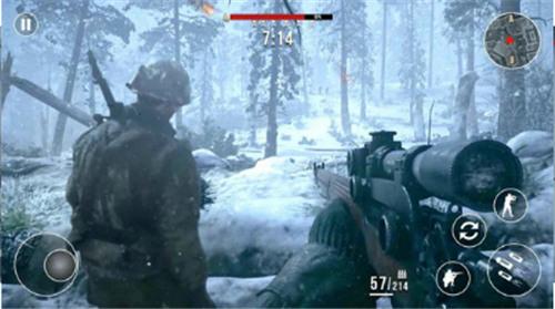前线战场:冬季狙击手苹果版