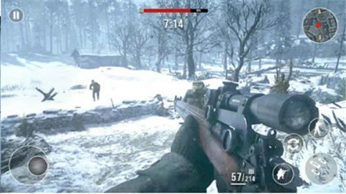 前线战场:冬季狙击手IOS版