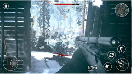 前线战场:冬季狙击手安卓版