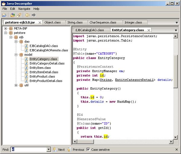 java反编译工具下载