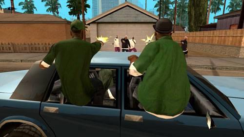 侠盗飞车5圣安地列斯游戏