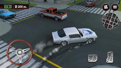 驾驶速度模拟器