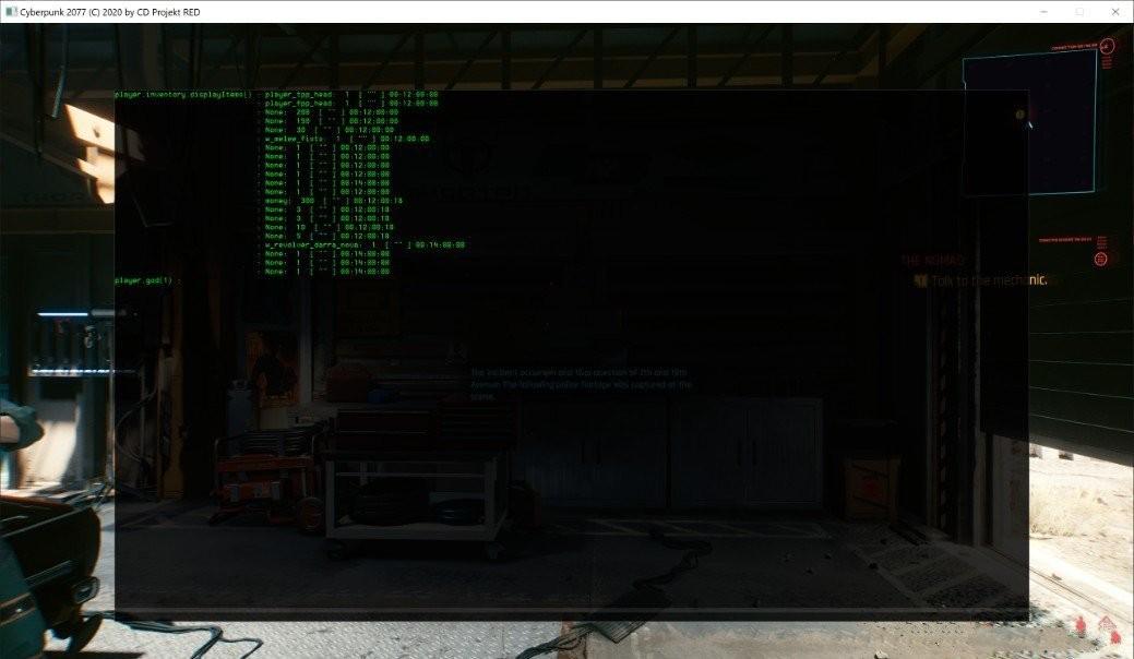 赛博朋克2077控制台MOD