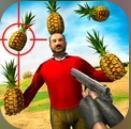 菠萝射击3D破解版