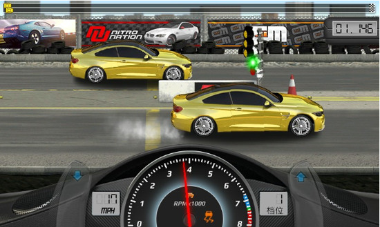 短程高速赛车无限金币版IOS版