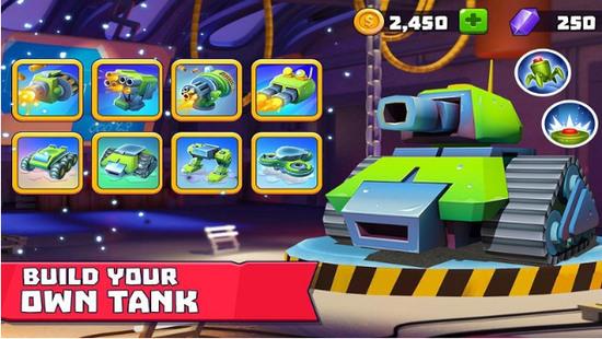 坦克争霸无限水晶版苹果版