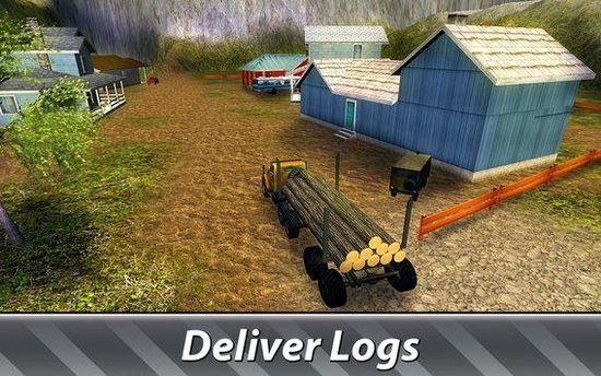 锯木车司机模拟器2破解版IOS版