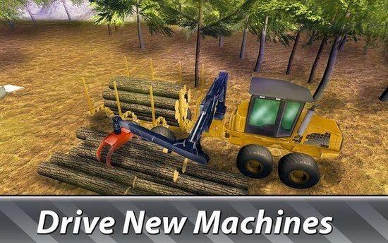 锯木车司机模拟器2破解版安卓版