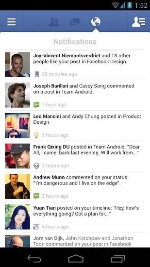 facebook国际版app