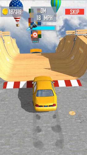 超级坡道汽车跳跃安卓下载