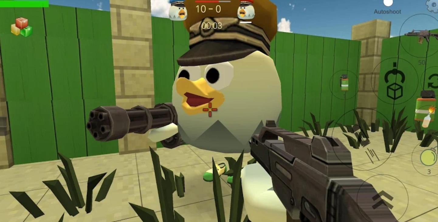 鸡枪最新版苹果版